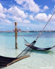 Hammocks in the Bahamas