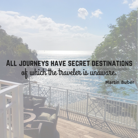 All journeys have secret destinations