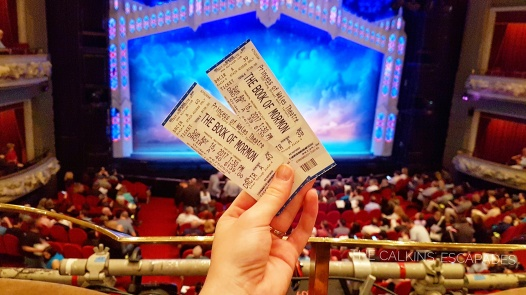 Catching Book of Mormon on broadway in Toronto